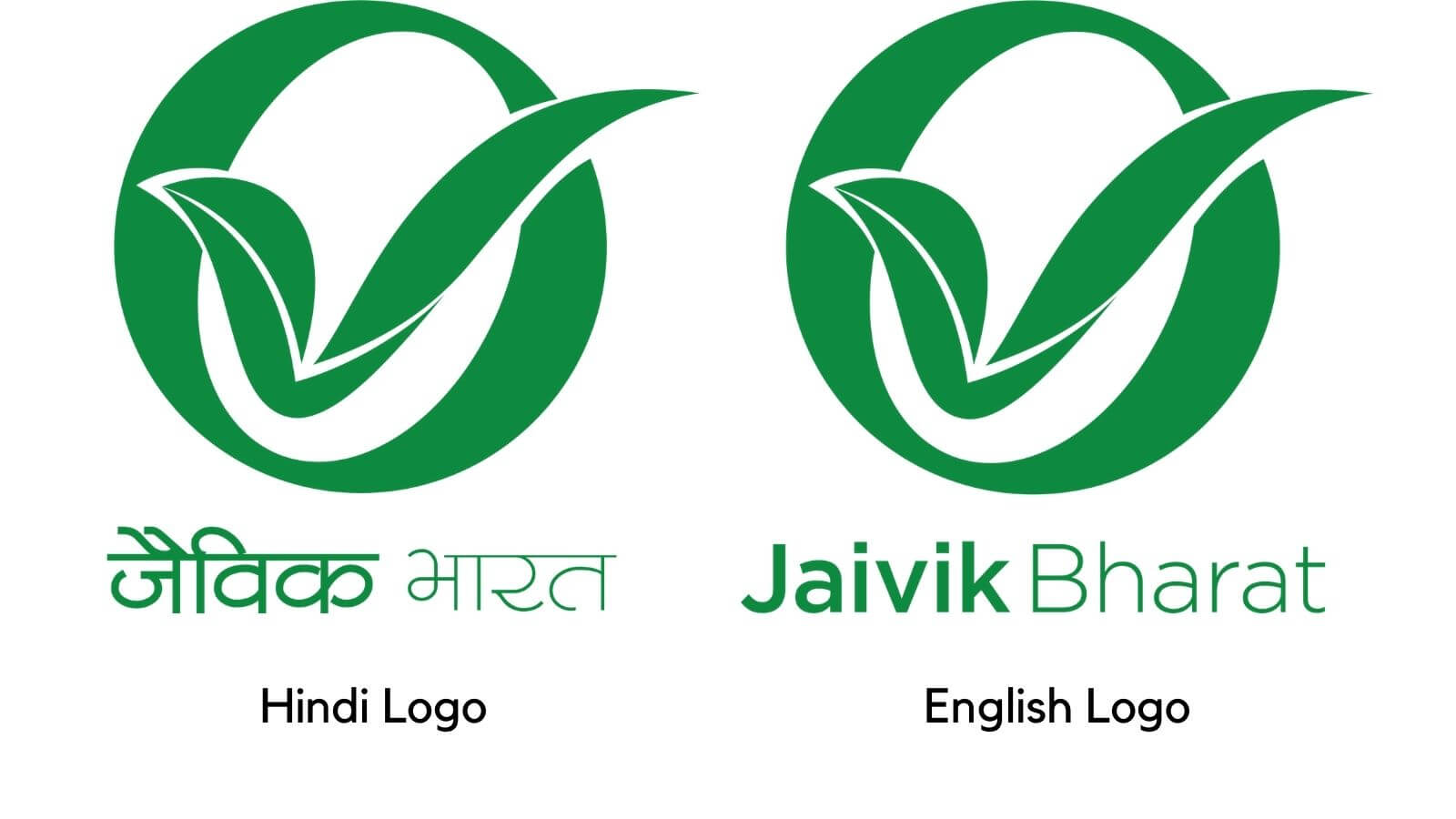 FSSAI Jaivik Bharat Logo English Hindi