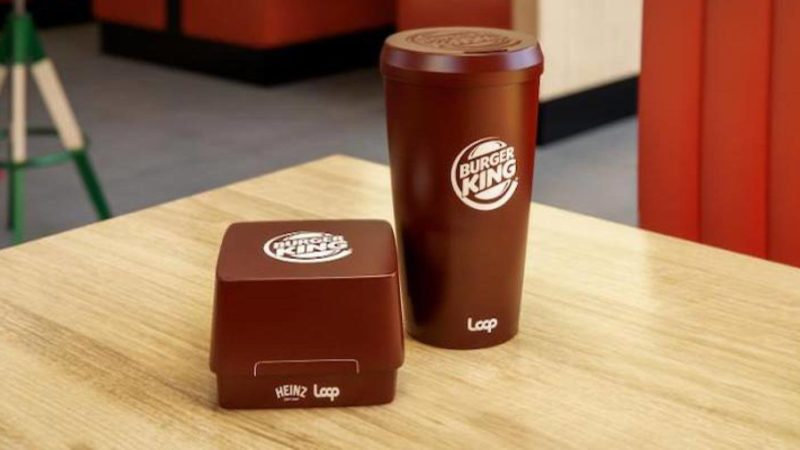 Burger King to try reusable Packaging, partners with Terracycle