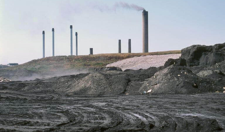 fly ash from coal power plants