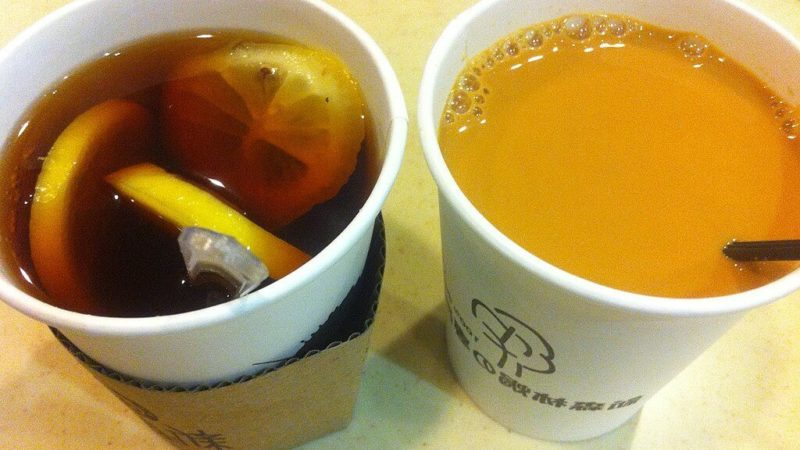 is tea in a paper cup Safe ?