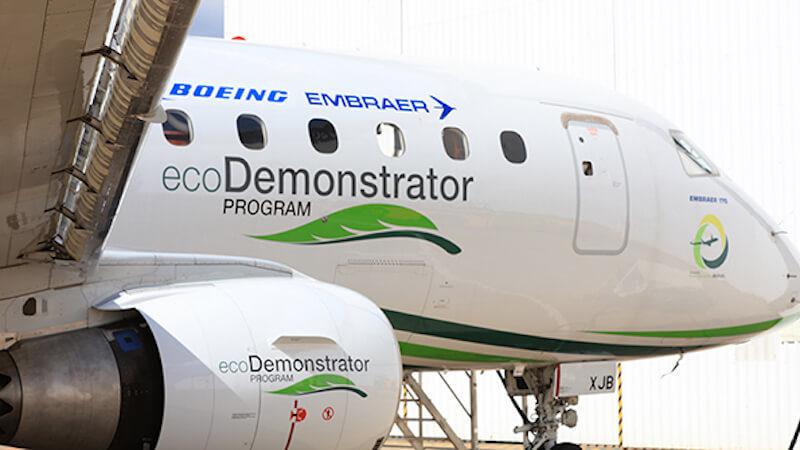 Boeing Airplanes Sustainable Fuels - Boeing ecoDemonstrator