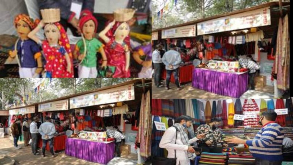 Aadmi-Mahotsav-2021-at-Dilli-Haat-in-Full-Swing