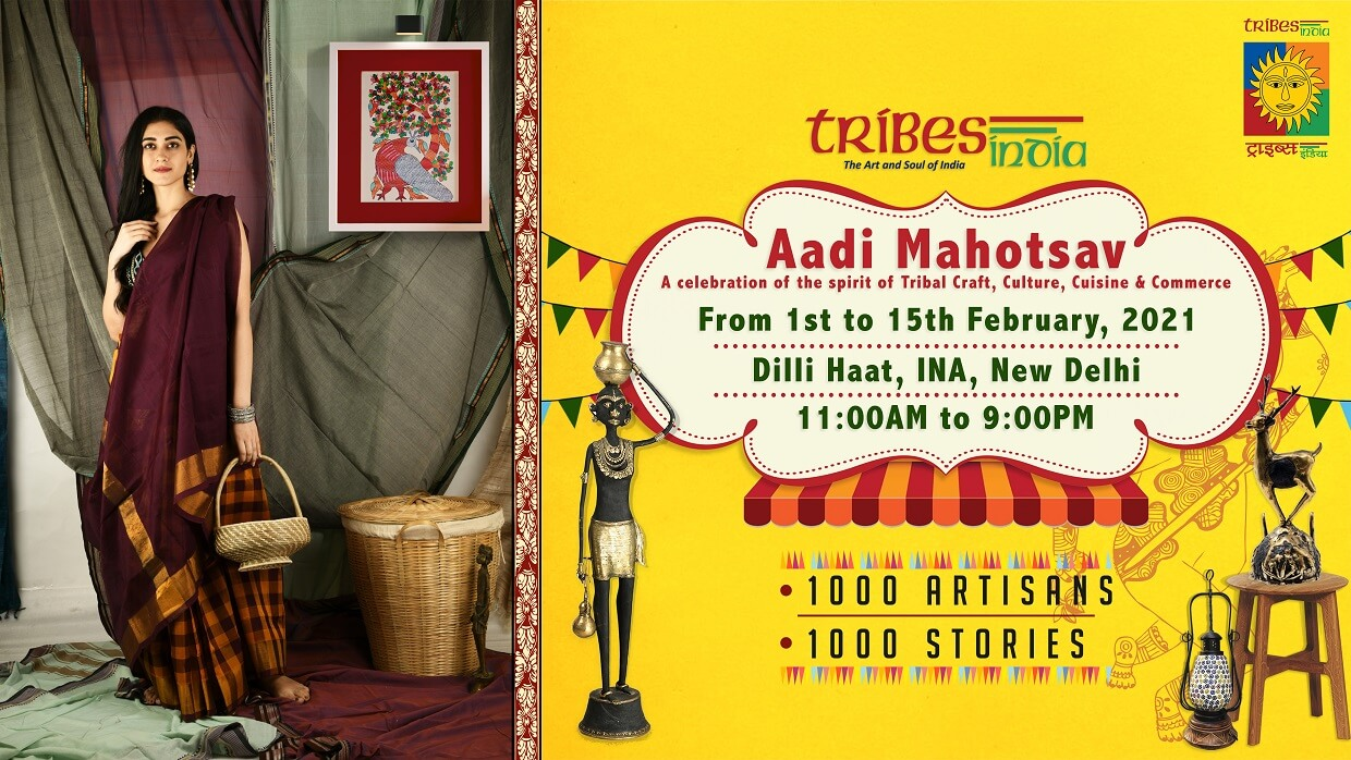 Aadi Mahotsav at Dilli Haat In Full Fervor