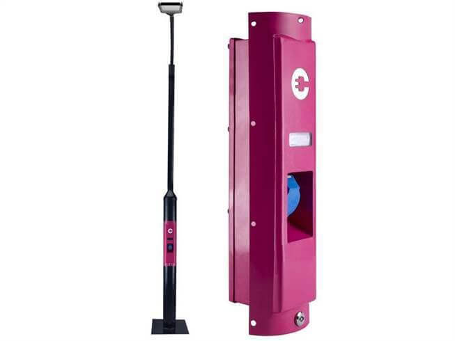 Chargegrid by magenta Power Street Lamp EV Charger