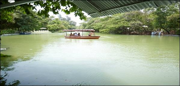 Mine-I Eco Park in NLCIL, TamilNadu: Boating facility