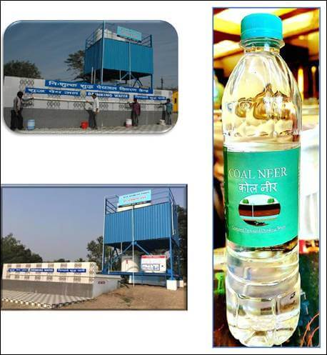 Mine water to Drinking water at Gondegaon, WCL, Maharashtra