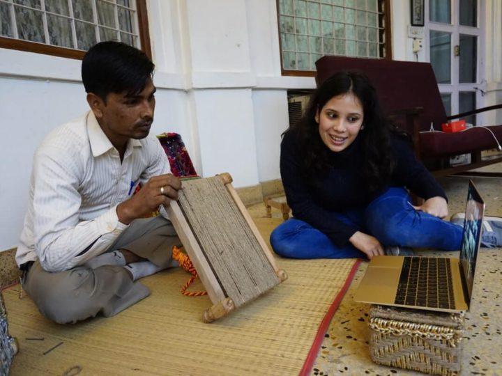 Mini Charpai Weaving Workshop by Sirohi