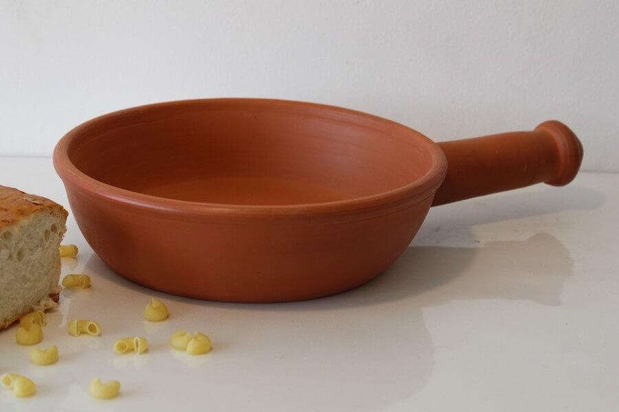 Rivaayat Terracotta frying pan