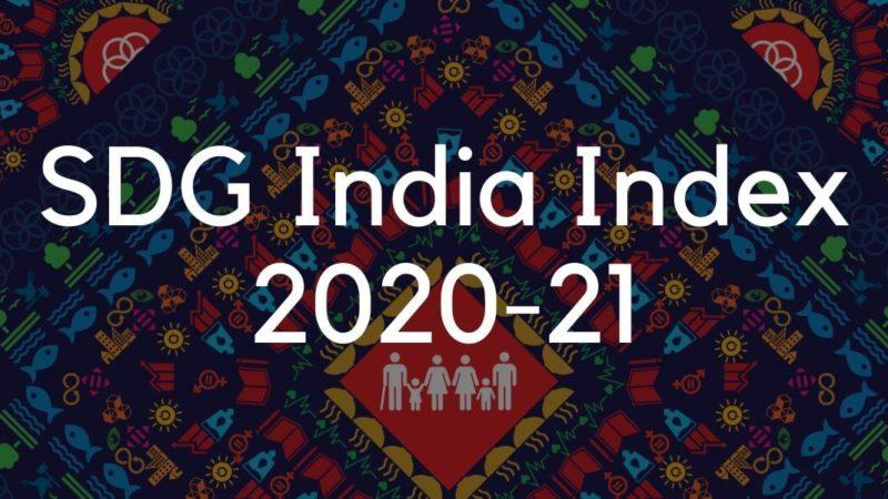 Featured Image SDG India Index 2020 21