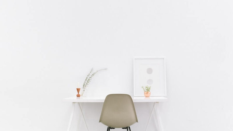 featured Image- minimalistic minimalist lifestyle Minimalism