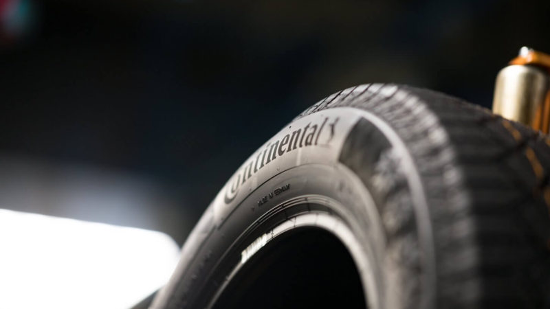 Continental Recycled Pet Bottles Tire