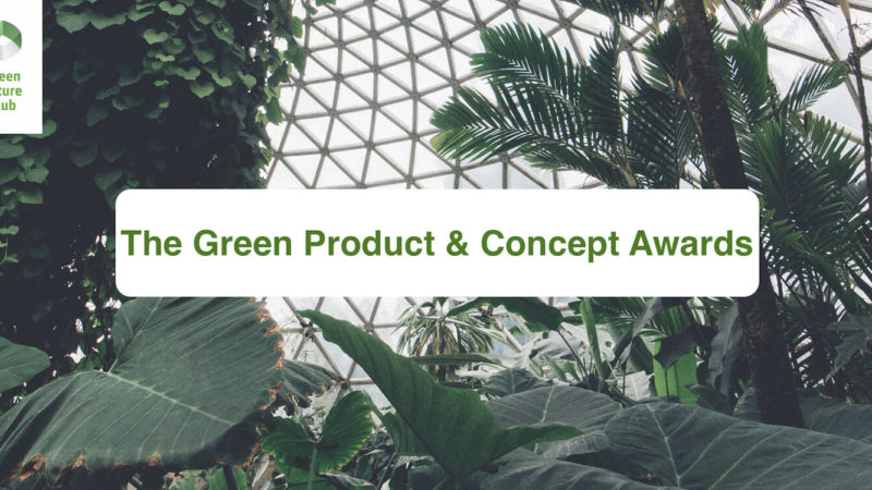 The Green Product Award 2022 is open for submissions!