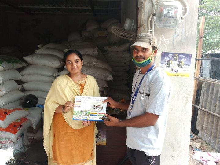 Hesa empowers  11 Lakh Rural Households in India