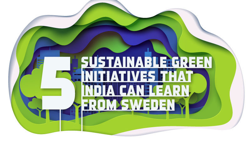 5 Sustainable Green Initiatives that India can learn from Sweden