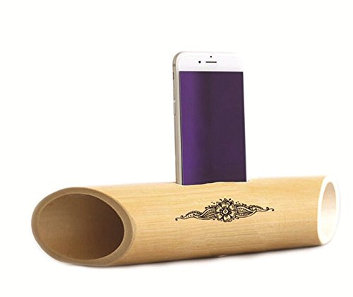 Electricity Free Bamboo Speakers