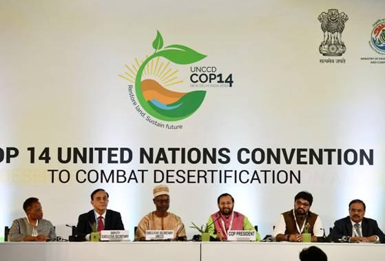 UNCCD COP14 Starts in India