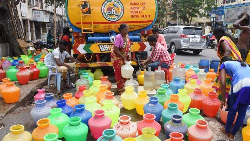 Chennai Water Crisis 2019