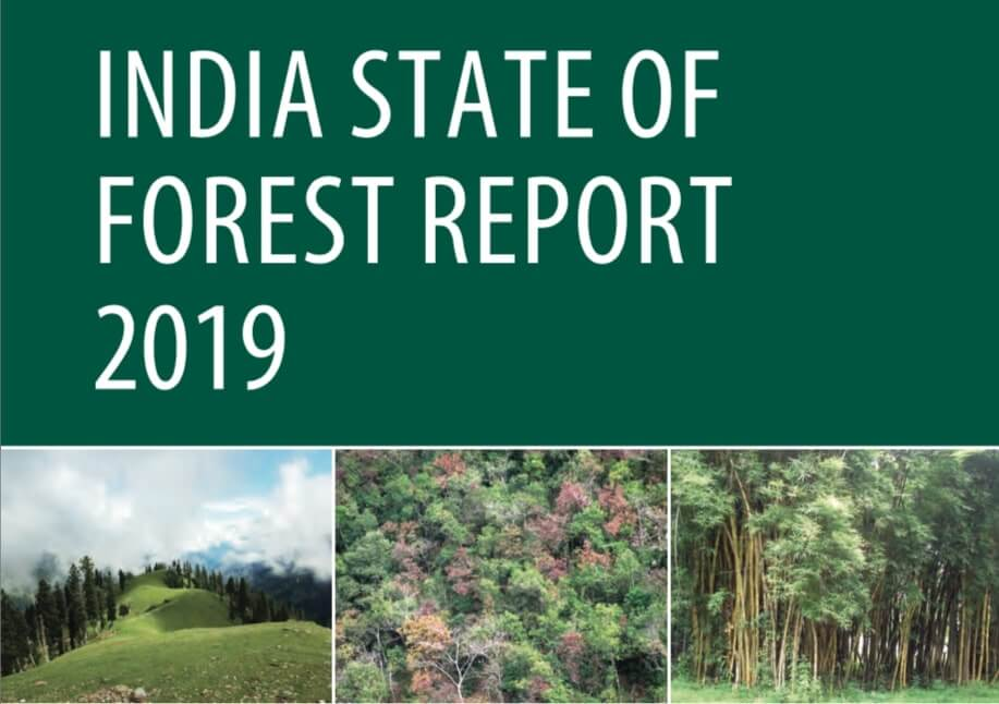India State of Forest Report 2019 Released