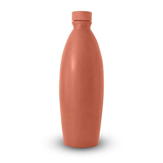 Earthen Clay Water Bottles