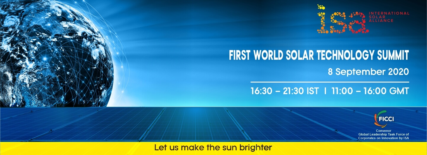 First World Solar Technology Summit to take place Tomorrow virtually