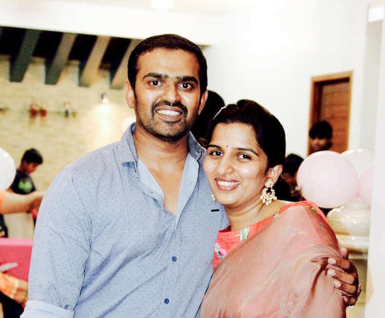 Harshvardhan and Namrata Reddy Sirupa