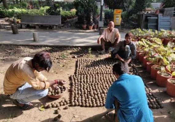 IIT Roorkee hosts seed ball event to spread greenery