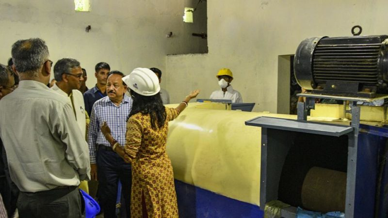 IIP sets up plant to convert plastic waste into diesel fuel