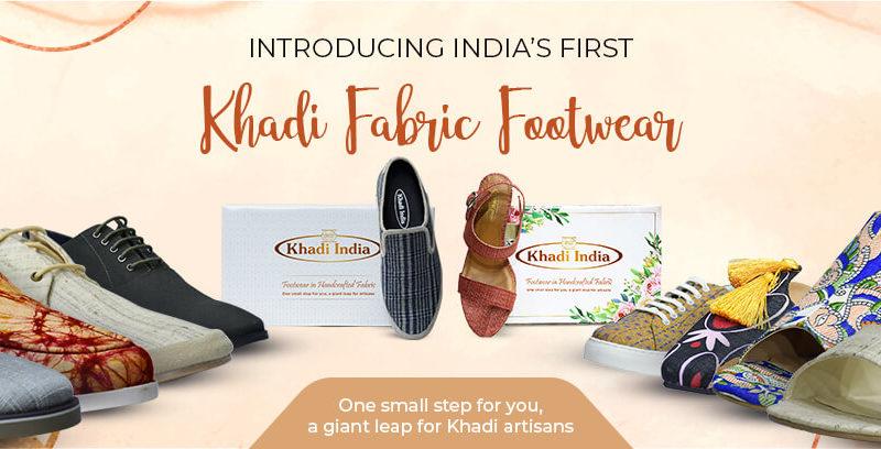 Khadi India footwear