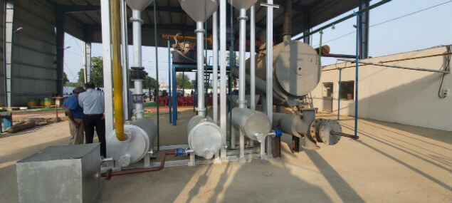 India's first plastic to diesel conversion plant in Mathura