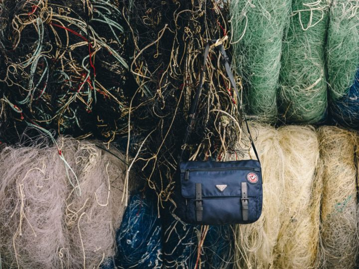 Prada makes Re-Nylon bags from recycled ocean plastic