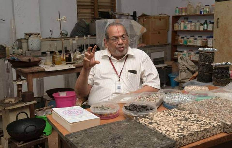 R. Vasudevan – The Plastic Man of India