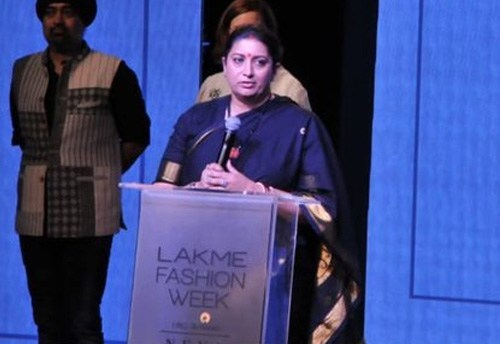 Smriti Irani launches Project SU.RE on Sustainable Fashion