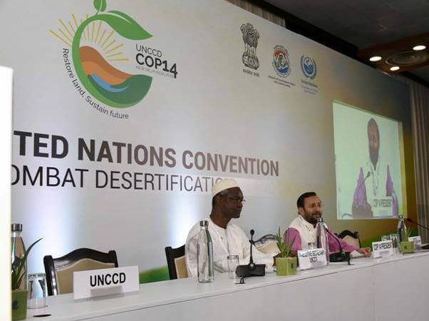 The New Delhi Declaration on Land degradation