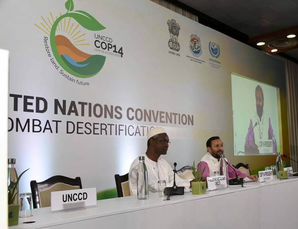 COP 14 closes with adoption of New Delhi Declaration