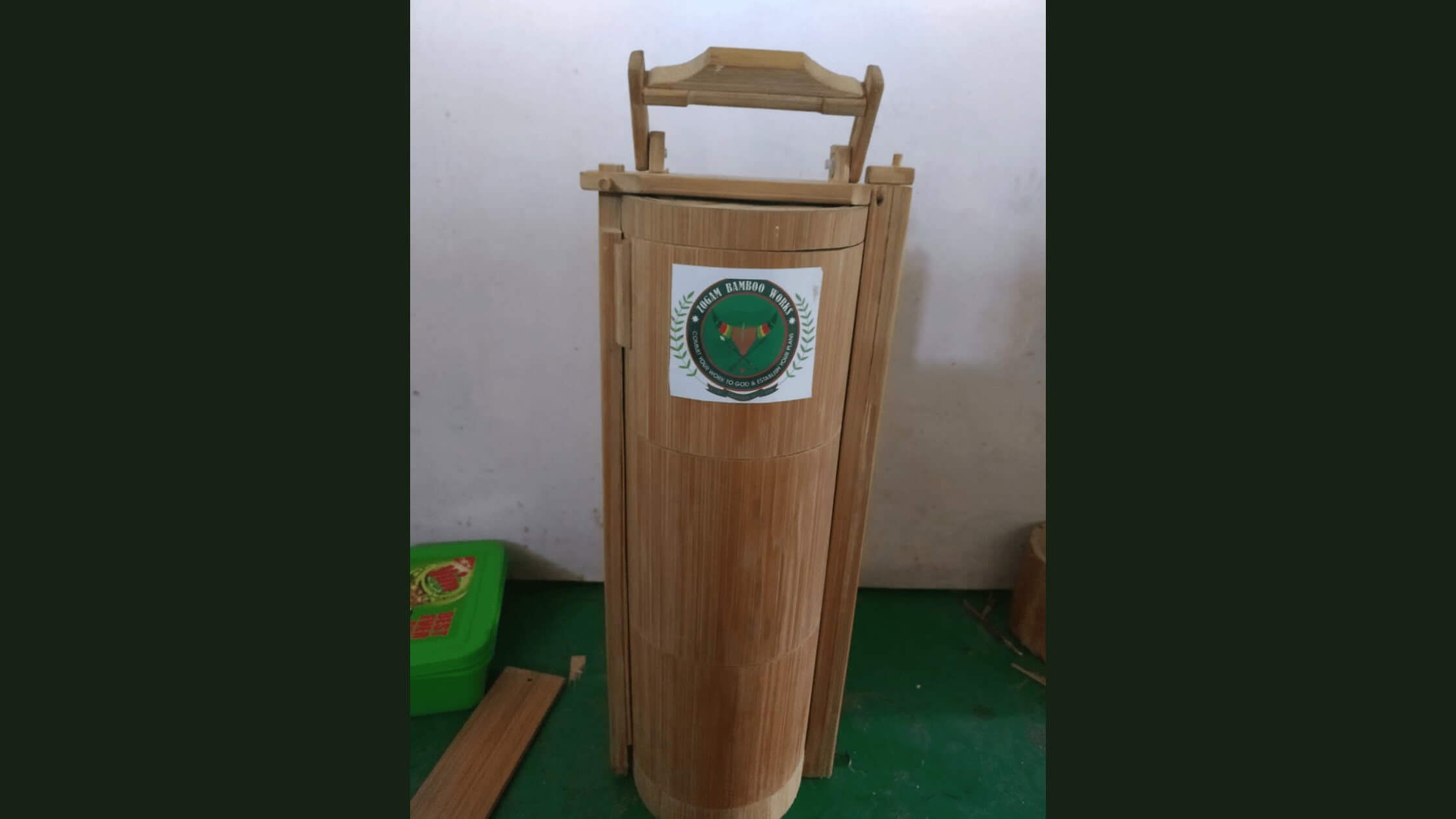 Manipur Startup Zogam Bamboo making Eco-friendly Tiffin Boxes
