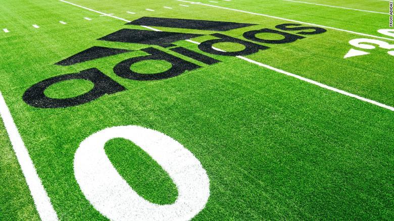 Adidas Sustainable Football field